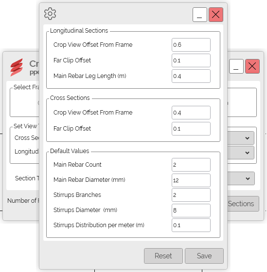 PPE Revit Add-in Create Views Settings Interface
